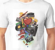 I Love Retro Unisex T-Shirt