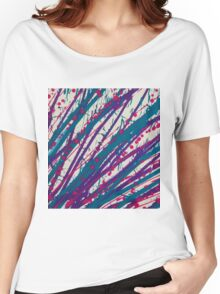 Psychedelic Splash  Women's Relaxed Fit T-Shirt