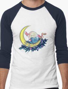 Mount Moon Men's Baseball ¾ T-Shirt