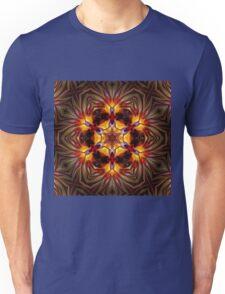 Birds of paradise mandala Unisex T-Shirt