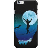 Moonlight slackline iPhone Case/Skin