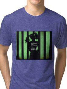 Harley Quinn Green Tri-blend T-Shirt