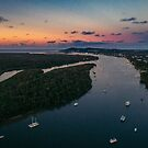 Noosa River Sunset by Sam Frysteen
