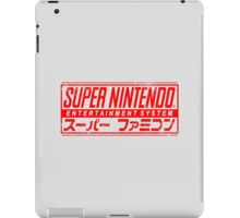 Japanese SNES iPad Case/Skin