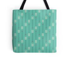 Arrows_Turquoise Tote Bag