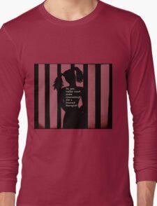 Harley Quinn Red Long Sleeve T-Shirt