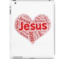 Jesus - Red Heart iPad Case/Skin