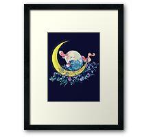 Mount Moon Framed Print