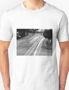 Black And White Cityscape 9  T-Shirt