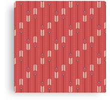 Arrows_Red Canvas Print