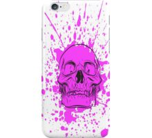 Skull: Purple Haze iPhone Case/Skin