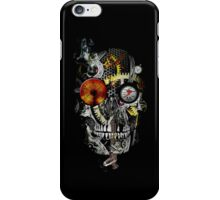 steam powered skull iPhone Case/Skin