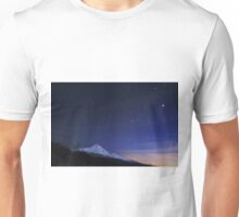 Stars over Mt Hood.  Unisex T-Shirt
