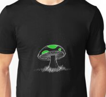 Green Mushroom Unisex T-Shirt