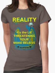 Reality Womens Fitted T-Shirt