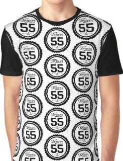 "Forever 55 ""The Freak"" Black Imprint Commemorative Art Graphic T-Shirt"