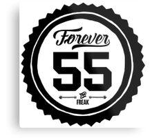 "Forever 55 ""The Freak"" Commemorative Art Metal Print"