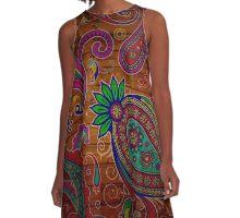 The Beauty Wood A-Line Dress
