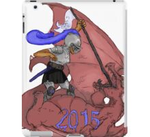 senior dragons hell yea iPad Case/Skin