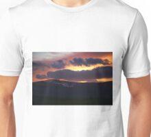 Burning Sky.  Unisex T-Shirt
