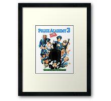Police Academy 3 Framed Print