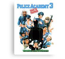 Police Academy 3 Canvas Print