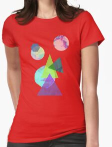 Abstract 5 Womens Fitted T-Shirt