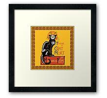La Chat Mort Framed Print