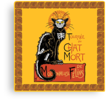 La Chat Mort Canvas Print