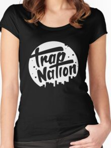 trap nation Women's Fitted Scoop T-Shirt