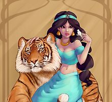 Princess Jasmine by elliem-