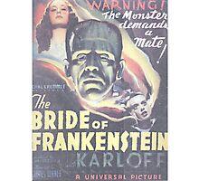 Boris Karloff Frankenstein Photographic Print