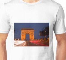 Traffic at Arc de Tiromphe T-Shirt