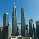 Petronas Twin Towers by Robyn Williams