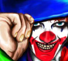 Mad Clown Sticker