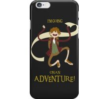It's time for Bilbo to go ON AN ADVENTURE! iPhone Case/Skin
