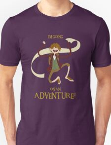 It's time for Bilbo to go ON AN ADVENTURE! T-Shirt