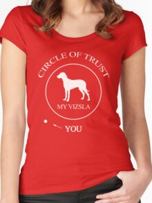 Funny Vizsla Dog Women's Fitted Scoop T-Shirt