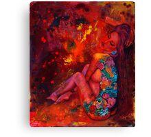 Sexy Ink Canvas Print