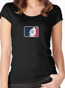 Dempster Vs. A-Rod Commemorative Women's Fitted Scoop T-Shirt