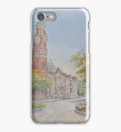 Launceston Civic Square by Muriel Sluce iPhone Case/Skin