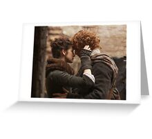 Outlander/Jamie & Claire Greeting Card