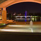 Bond University under the arch by flexigav