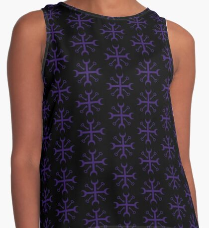 Cross Road Keys Hex Contrast Tank