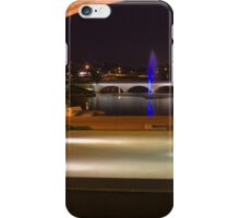 Bond University under the arch iPhone Case/Skin