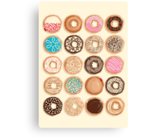 Nuts for Donuts Canvas Print