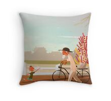 Beijing TangHuLu Throw Pillow