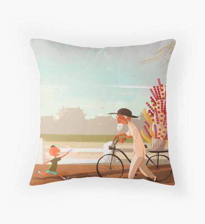 Beijing TangHuLu Throw Pillow