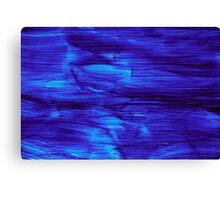 Flora Danica Blue Canvas Print
