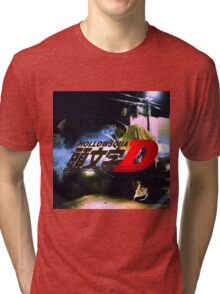 Xavier Wulf Hollow Squad Initial D Tri-blend T-Shirt